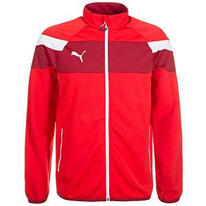 PUMA Spirit II Tricot Trainingsjacke Herren rot / weiß