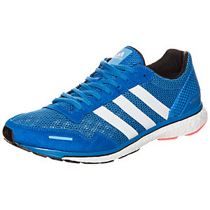 adidas adizero Adios 3 Laufschuhe Herren blau / weiß