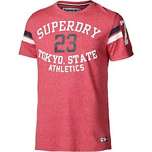 Superdry Printshirt Herren rot