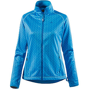 sch ffel gavarnie fleecejacke damen blau allover im online shop von sportscheck kaufen. Black Bedroom Furniture Sets. Home Design Ideas