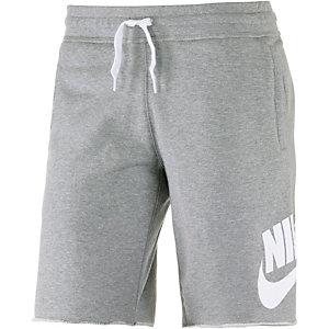 Nike AW77 FT Alumni Funktionsshorts Herren grau/weiß