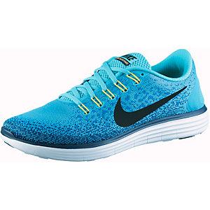 Nike Free Run Distance Laufschuhe Herren hellblau