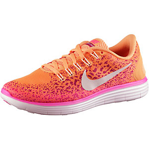 Nike Free Run Distance Laufschuhe Damen orange