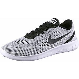 Nike FREE RN Laufschuhe Jungen grau/schwarz