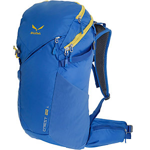 SALEWA Crest 22S Wanderrucksack dunkelblau