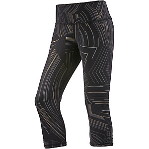 Brooks Greenlight Lauftights Damen schwarz/grau