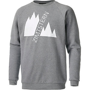 Zimtstern Double Up Sweatshirt Herren graumelange