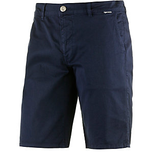 Cleptomanicx Port Slim Chino 2 Bermudas Herren navy