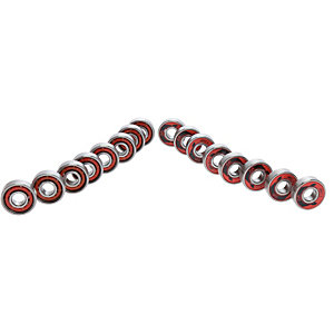 POWERSLIDE WCD ABEC 5 Freespin Kugellager silber/rot