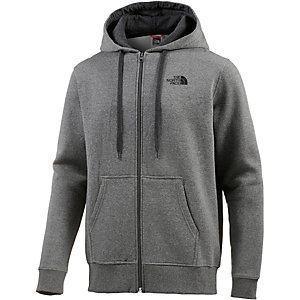 The North Face Open Gate Sweatjacke Herren grau