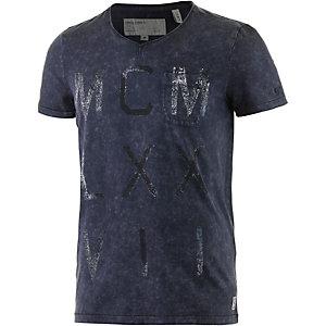 GARCIA Printshirt Herren dunkelblau