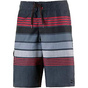 Billabong Boardshorts Jungen schwarz/rot