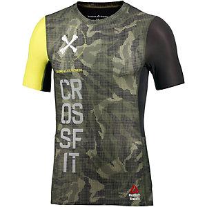 Reebok Crossfit Funktionsshirt Herren oliv