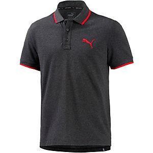 PUMA Sports Poloshirt Herren dunkelgra