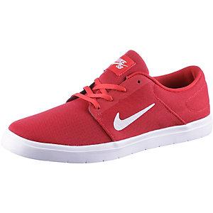 Nike SB PORTMORE ULTRALIGHT Sneaker Herren Rot