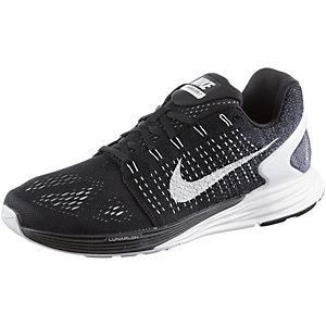 Nike Lunarglide 7 Laufschuhe Herren schwarz/weiß