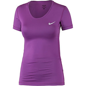 Nike Pro Dry Fit Funktionsshirt Damen lila