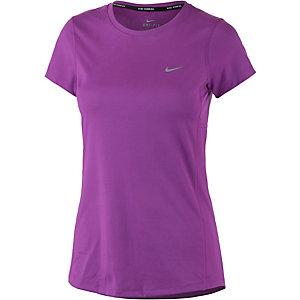 Nike Miler Funktionsshirt Damen lila