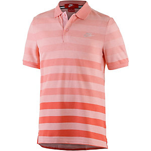 Nike Poloshirt Herren rot