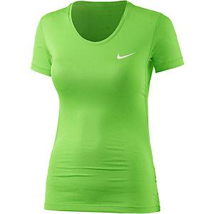Nike Pro Dry Fit Funktionsshirt Damen grün