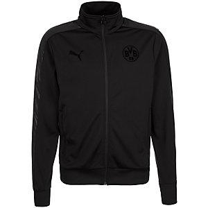 PUMA Borussia Dortmund T7 Trainingsjacke Herren schwarz