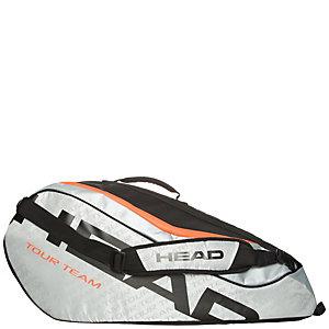 HEAD Tour Team 6er Combi Tennistasche silber / schwarz