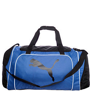 PUMA Team Cat Medium Sporttasche schwarz / blau