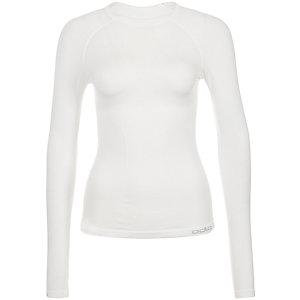 Odlo Crew Neck Evolution Warm Funktionsshirt Damen weiß