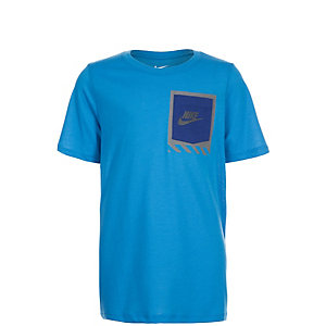 Nike Tri-Blend Tech Pocket T-Shirt Kinder hellblau