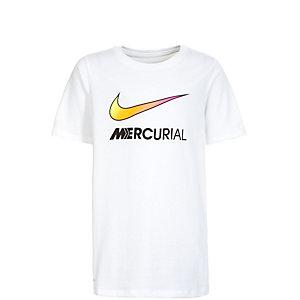Nike Mercurial Swoosh Funktionsshirt Kinder weiß