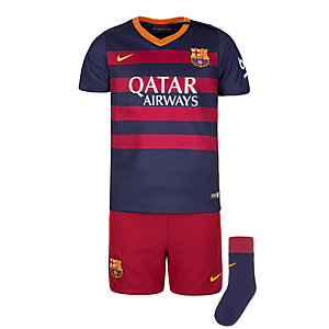 Nike FC Barcelona Babykit Home Stadium Fußballtrikot Kinder blau / rot / gelb