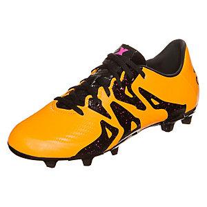 adidas X 15.3 Fußballschuhe Kinder gold / schwarz