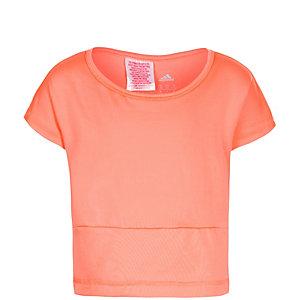 adidas Wardrobe Funktionsshirt Mädchen rosa / silber