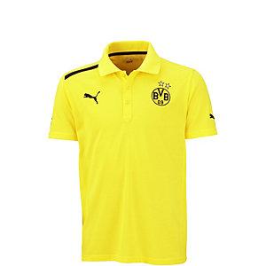 PUMA Borussia Dortmund Poloshirt Kinder gelb