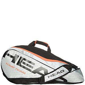 HEAD Tour Team 9er Supercombi Tennistasche silber / schwarz