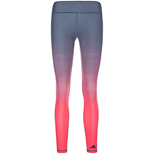 adidas Miracle Sculpting Tights Damen blau / lachs