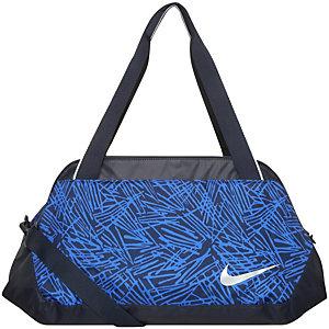 Nike Legend Club Print Sporttasche Damen blau / schwarz