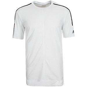 adidas Standard 19 ClimaCool Aeroknit Funktionsshirt Herren weiß / schwarz