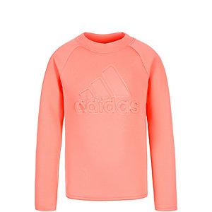 adidas Wardrobe Logo Sweatshirt Kinder rosa