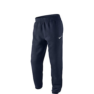 Nike Fleece Cuffed Trainingshose Kinder blau / weiß