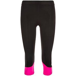 adidas Techfit Capri Tights Damen schwarz / pink