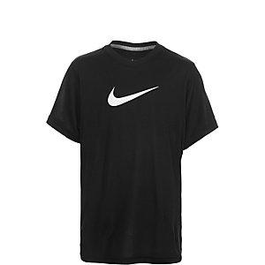 Nike Legend Top Funktionsshirt Kinder schwarz / weiß