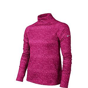Nike Pro Graphic Hyperwarm Mock Funktionsshirt Mädchen pink