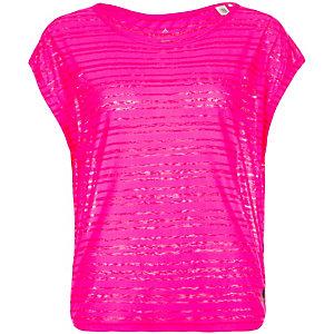 adidas Lightweight Funktionsshirt Damen pink