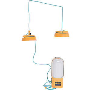 BioLite Nano Grid Campinglampe orange