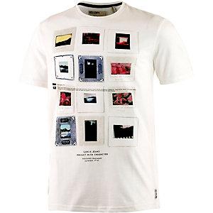 GARCIA Printshirt Herren weiß