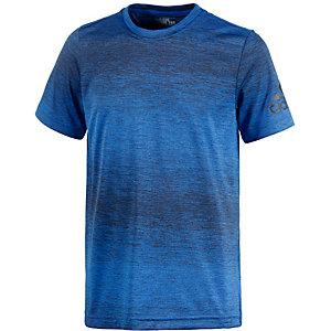 adidas Funktionsshirt Jungen blau/schwarz
