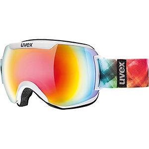 Uvex downhill 2000 FM Skibrille weiß/bunt