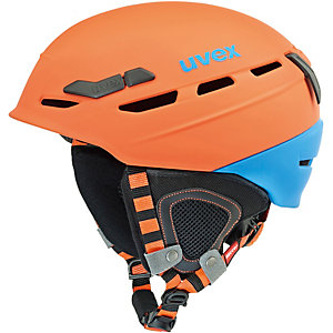 Uvex p.8000 tour Skihelm orange/hellblau