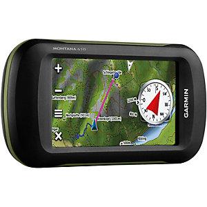 Garmin Montana 610 + TOPO Deutschland V7 GPS schwarz